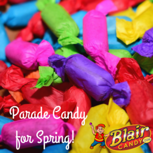 parade candy for spring activities