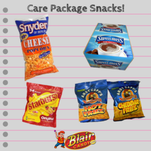 Care Package Snacks