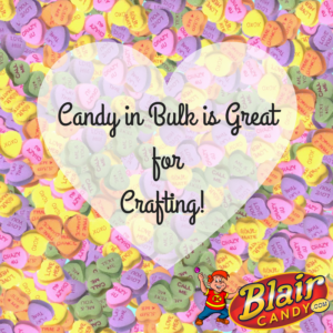 Valentine's Day Candy in Bulk for Crafting