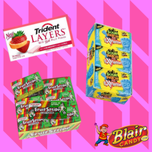 Chewing Gum in Bulk | BlairCandy.com