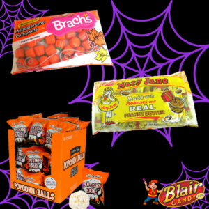 Halloween Popcorn Balls and Treats | BlairCandy.com