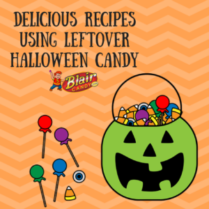 Recipes using Leftover Halloween Candy | BlairCandy.com