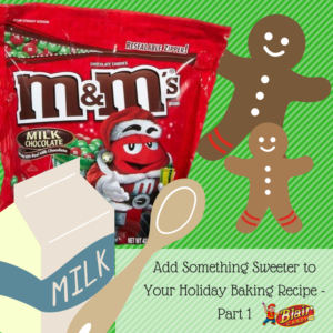 M&M's in Bulk for Holiday Recipes | BlairCandy.com