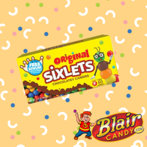 Box of Sixlets Candy | BlairCandy.com