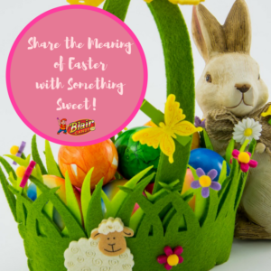 Easter Basket with Eggs | BlairCandy.com