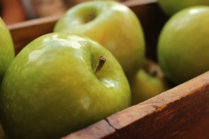 Fresh Apples to Make Candy Apples