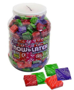 A 400-Count Jar of Now & Later Candy Chews | BlairCandy.com