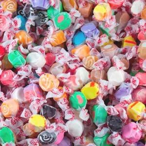 Pile of Bulk Saltwater Taffy in Assorted Flavors | BlairCandy.com