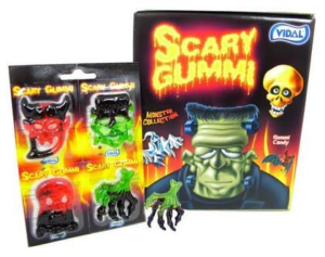 A Package of Halloween-Themed Scary Gummies | BlairCandy.com