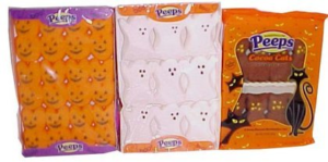 Assortment of Pumpkin, Ghost, and Cat Halloween Peeps | BlairCandy.com