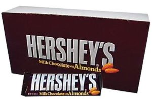 Box of Hershey's Candy Bars | BlairCandy.com