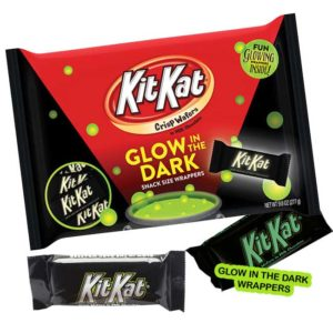 A Bag of Glow-in-the-Dark Kit Kats for Halloween | BlairCandy.com