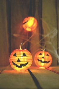 Illuminated Paper Jack O' Lanterns for Halloween | BlairCandy.com