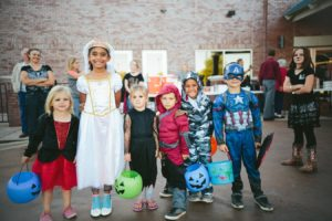 Costumed Trick-or-Treaters Dressed for Halloween | BlairCandy.com