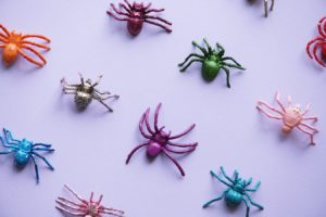 Candy Spiders in Multiple Bright Colors | BlairCandy.com