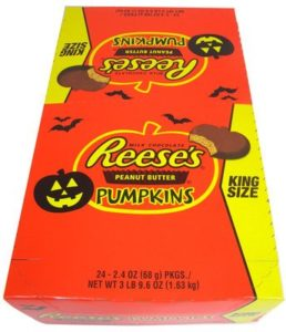 Box of Reese's Peanut Butter Pumpkins | BlairCandy.com