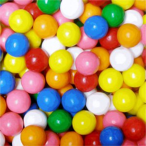 Pile of Sugar-Free Gumballs | BlairCandy.com