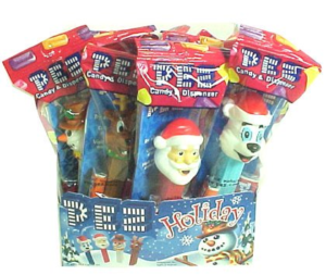 A Box of Bulk Christmas Pez Dispensers | BlairCandy.com