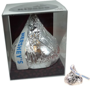 A Giant Hollow Hershey Kiss Candy Gift | BlairCandy.com