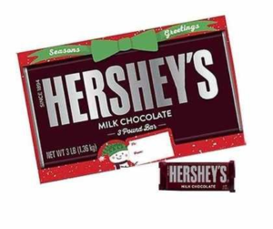 A Giant, 3-Pound Hershey's Milk Chocolate Bar | BlairCandy.com