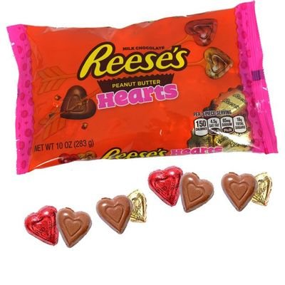 Bag of Reese's Peanut Butter Valentine's Hearts | BlairCandy.com