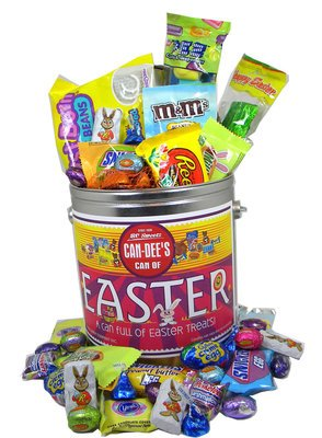 A Deluxe Can of Assorted Easter Candy in Bulk | BlairCandy.com