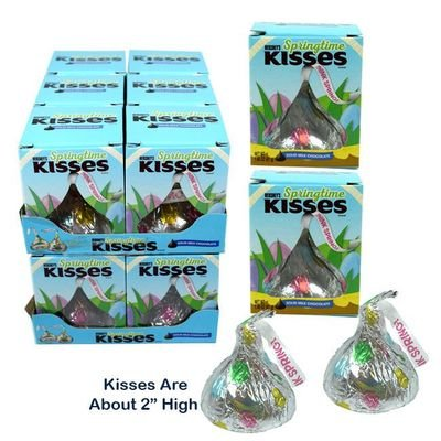 Box of Hershey's Springtime Kisses in Bulk | BlairCandy.com