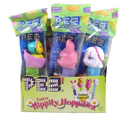 Box of Assorted Easter Pez Candy Dispensers | BlairCandy.com