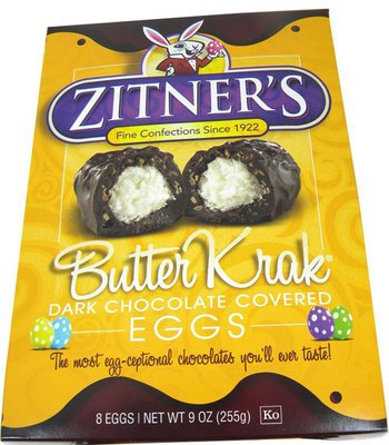 Zitner's Butter Krak Dark Chocolate Easter Eggs | BlairCandy.com