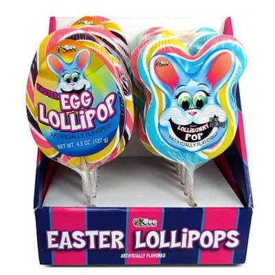 Easter-Themed Candy Lollipops in Egg and Bunny Shapes | BlairCandy.com