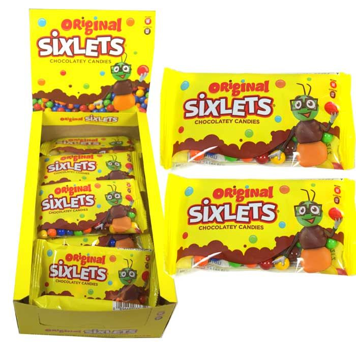 Original Sixlets Chocolate Candies in Small Packages | BlairCandy.com