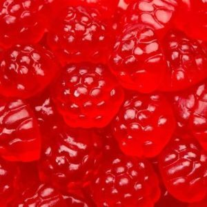 Red Raspberry Gummy Candy | BlairCandy.com