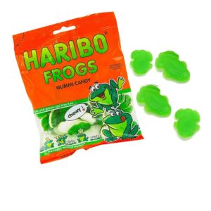 Haribo Frogs Gummies | BlairCandy.com