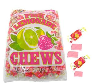Pink Lemonade Chews | BlairCandy.com