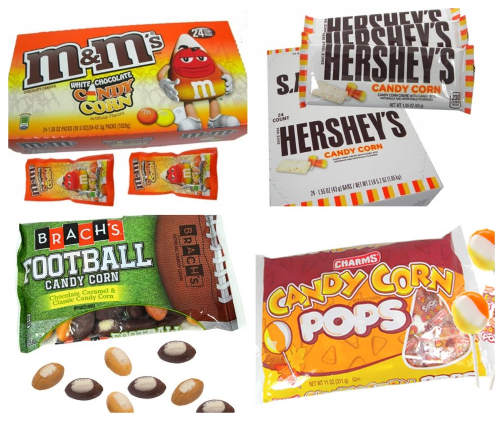Collage of Candy Corn Flavored Candies | Blaircandy.com