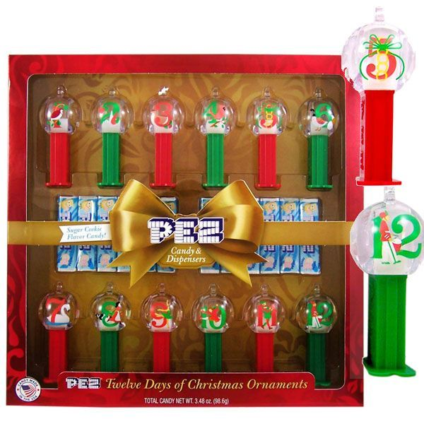 PEZ 12 Days of Christmas Gift Set | BlairCandy.com