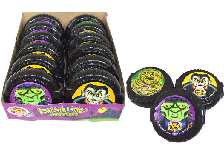 Hubba Bubba Bubble Tape Monsters | BlairCandy.com