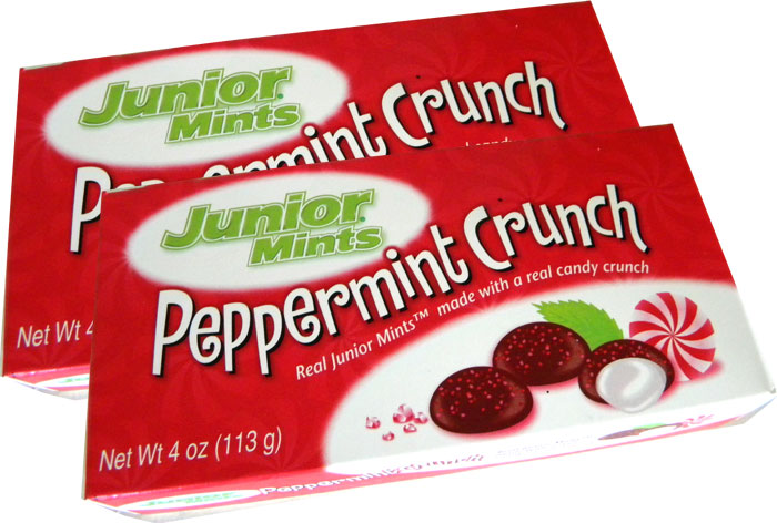 Junior Mints Peppermint Crunch | BlairCandy.com