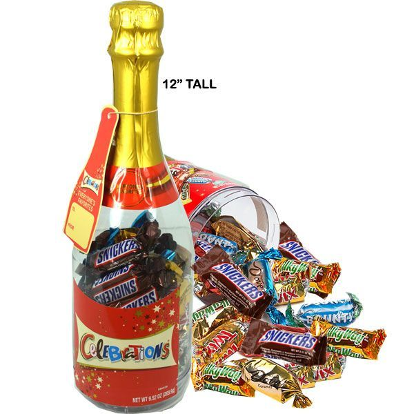 Mars Candy Celebration Bottle | BlairCandy.com