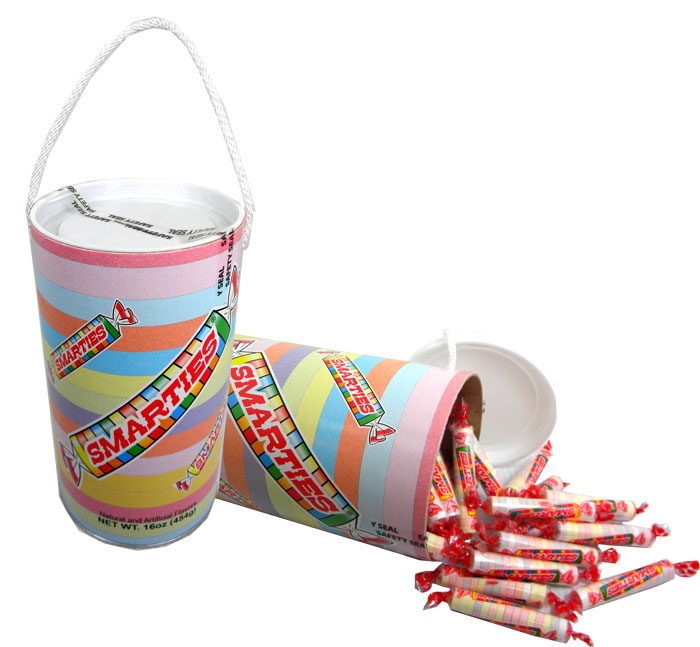 Smarties Large Gift Bank | BlairCandy.com