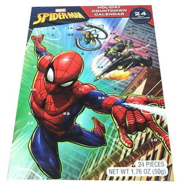 Spider-Man Candy Advent Calendar | BlairCandy.com