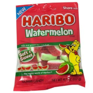 Haribo Watermelon Soft & Sweet Chews