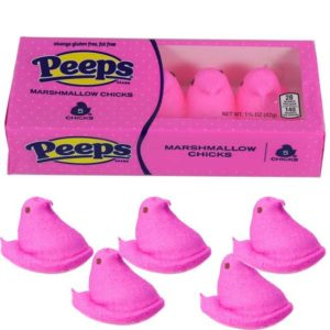 Pink was the third color, following yellow and white, that Marshmallow PEEPS introduced.