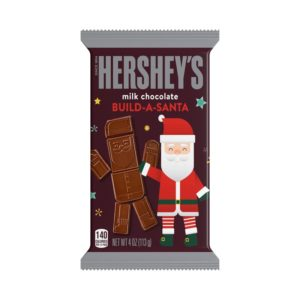 HERSHEY'S Milk Chocolate Build-A-Santa.